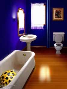 Våtrumsmålning badrum